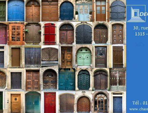 Une porte pour votre habitation, mais pas n'importe laquelle !